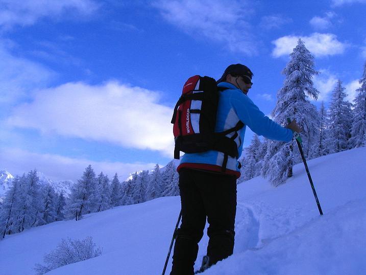 Foto: Andreas Koller / Ski Tour / Direkter Anstieg auf den Hengst (2076 m) / 15.12.2009 21:06:14
