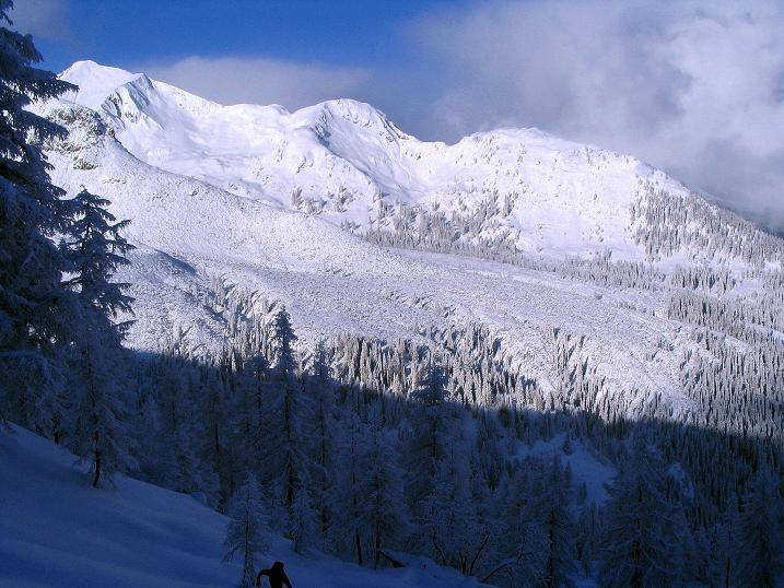 Foto: Andreas Koller / Ski Tour / Direkter Anstieg auf den Hengst (2076 m) / 15.12.2009 21:05:58