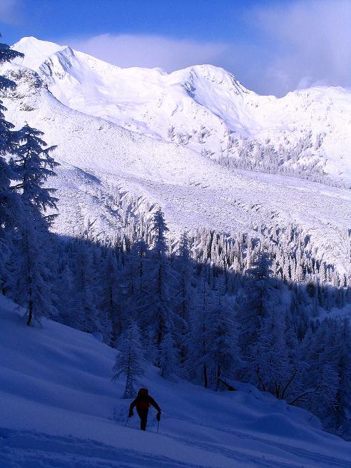 Foto: Andreas Koller / Ski Tour / Direkter Anstieg auf den Hengst (2076 m) / 15.12.2009 21:05:49