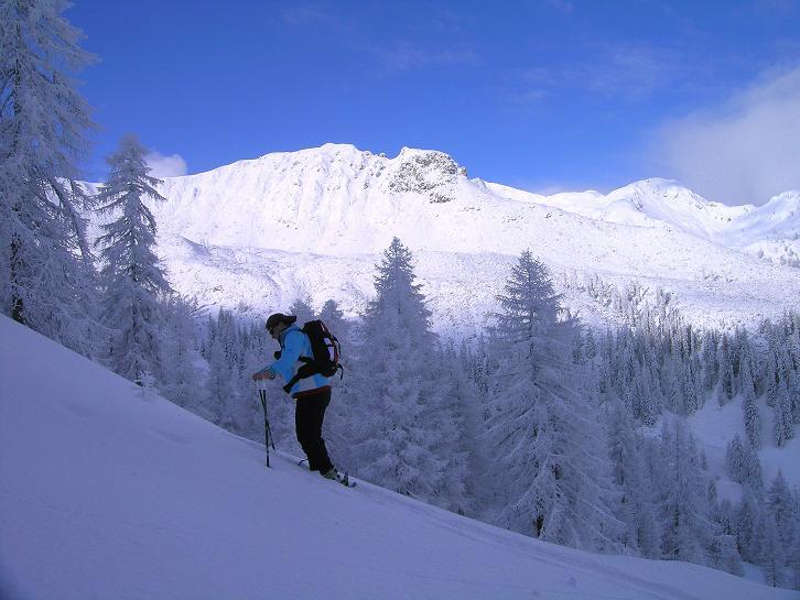 Foto: Andreas Koller / Ski Tour / Direkter Anstieg auf den Hengst (2076 m) / 15.12.2009 21:05:41