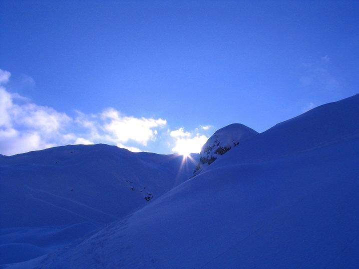 Foto: Andreas Koller / Ski Tour / Direkter Anstieg auf den Hengst (2076 m) / 15.12.2009 21:04:56