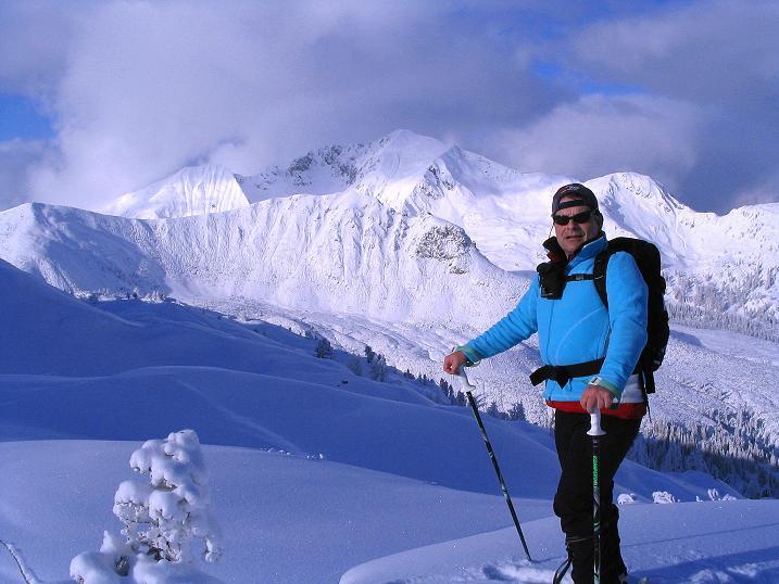 Foto: Andreas Koller / Ski Tour / Direkter Anstieg auf den Hengst (2076 m) / Am Hengst / 15.12.2009 21:04:24