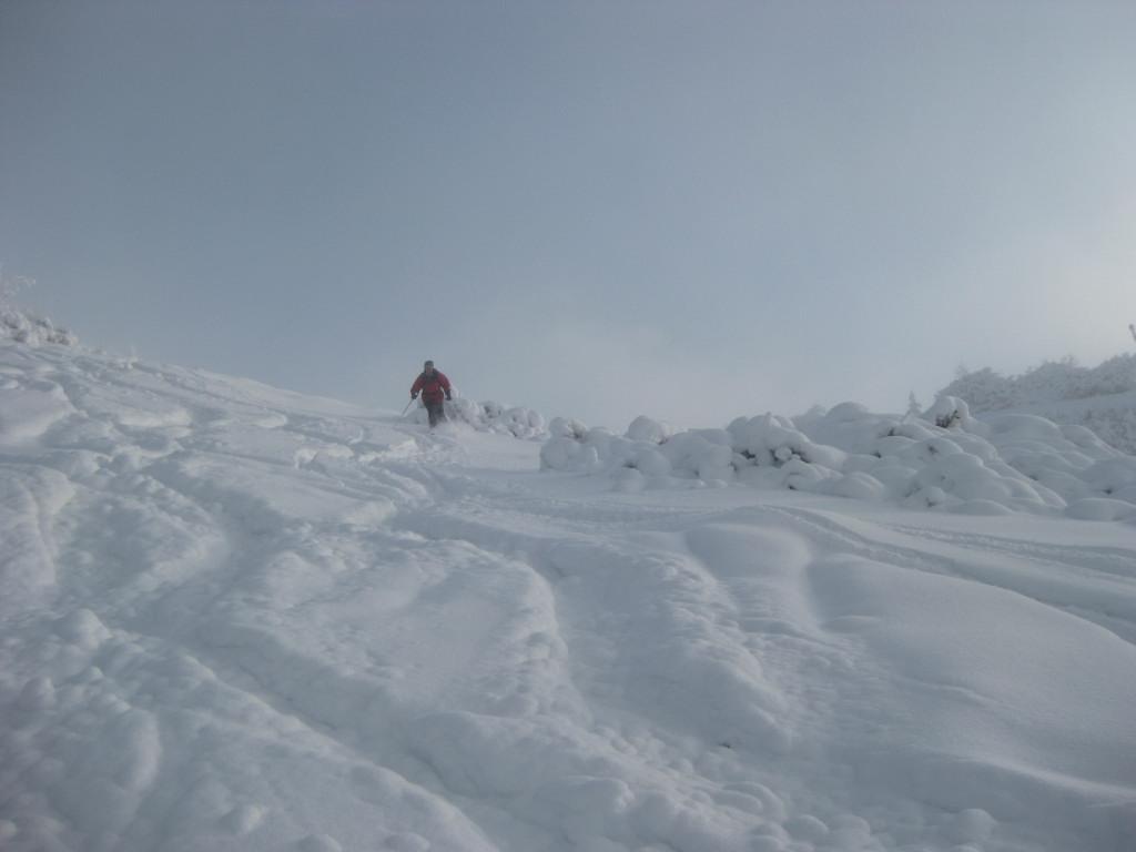 Foto: Wolfgang Lauschensky / Ski Tour / Pfaffenkegel 1837m, Torrenerjoch / Vorsaisonpiste / 16.12.2009 18:42:28