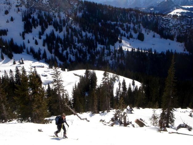 Foto: Manfred Karl / Ski Tour / Hirscheck aus dem Heutal / 20.12.2012 20:55:58