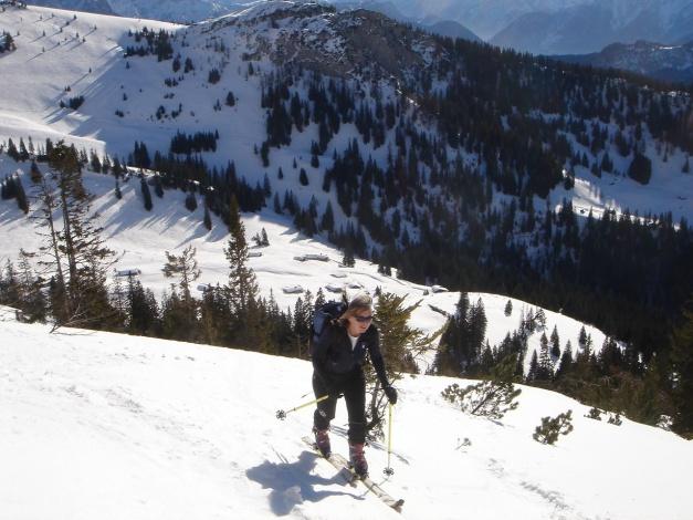 Foto: Manfred Karl / Ski Tour / Hirscheck aus dem Heutal / 20.12.2012 20:55:35