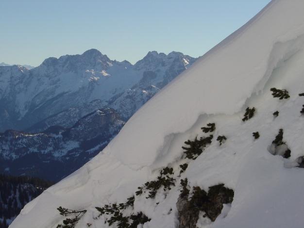Foto: Manfred Karl / Ski Tour / Hirscheck aus dem Heutal / In der Ostrinne / 20.12.2012 20:55:06