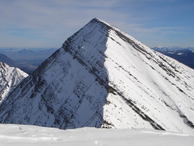 Foto: Manfred Karl / Ski Tour / Hirscheck aus dem Heutal / Sonntagshorn vom Hirscheck / 20.12.2012 20:53:31