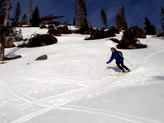 Foto: Manfred Karl / Ski Tour / Hirscheck aus dem Heutal / 20.12.2012 20:53:12