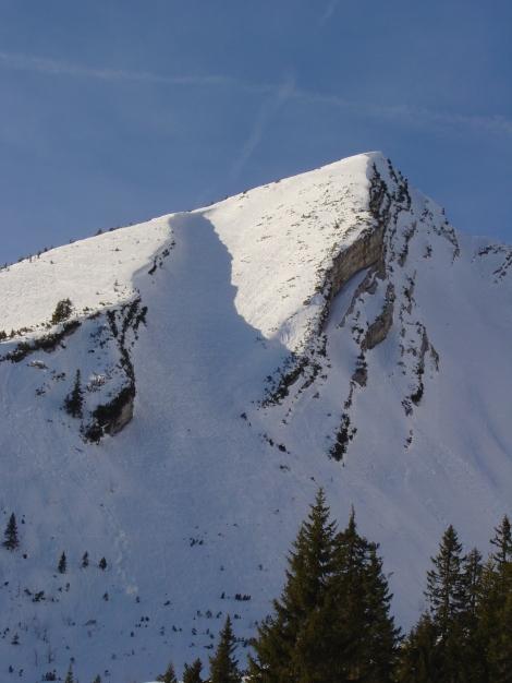 Foto: Manfred Karl / Ski Tour / Hirscheck aus dem Heutal / Hirscheck / 17.12.2009 20:49:28