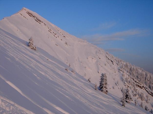 Foto: Manfred Karl / Ski Tour / Hirscheck aus dem Heutal / 17.12.2009 20:48:59