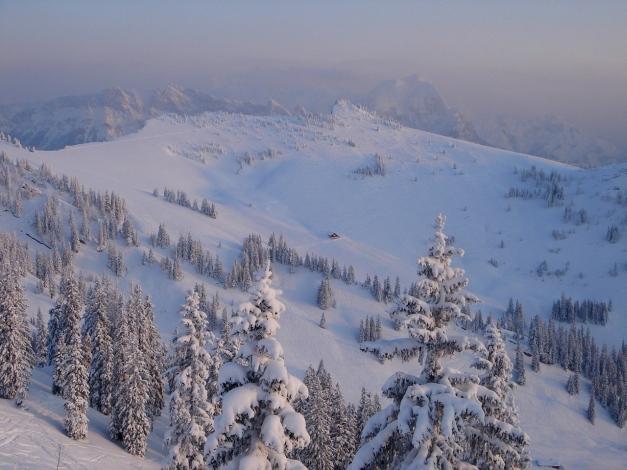 Foto: Manfred Karl / Ski Tour / Hirscheck aus dem Heutal / Blick zum Peitingköpfl / 17.12.2009 20:47:45