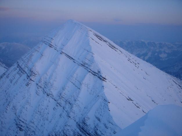Foto: Manfred Karl / Ski Tour / Hirscheck aus dem Heutal / Sonntagshorn vom Hirscheck / 17.12.2009 20:46:33