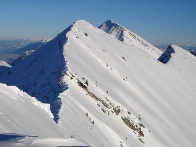 Foto: Manfred Karl / Ski Tour / Schwarzlahnerkopf / Vorderlahnerkopf, Sonntagshorn und Hirscheck / 18.12.2009 21:23:07