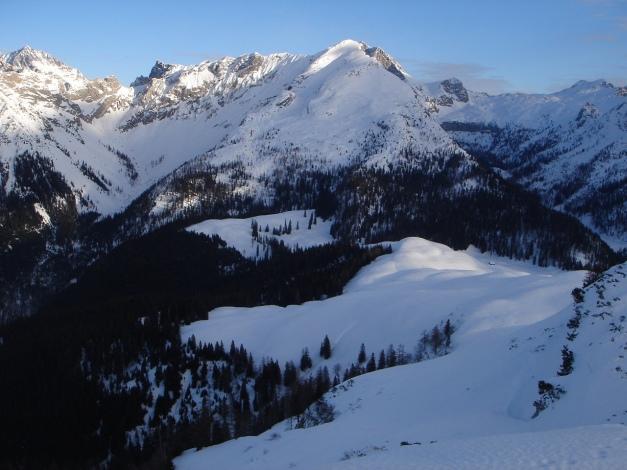 Foto: Manfred Karl / Ski Tour / Kühkranz / Blick zum Seehorn / 19.12.2009 14:38:49