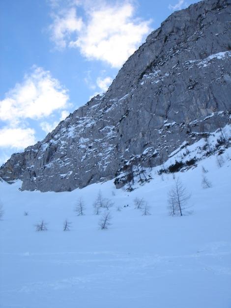 Foto: Manfred Karl / Ski Tour / Kühkranz / Im Nordkar unterhalb vom Hochkranz / 19.12.2009 14:37:25