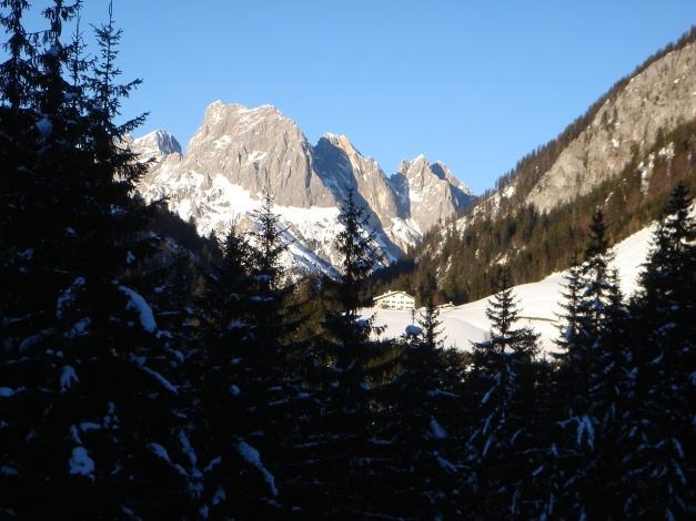 Foto: Manfred Karl / Ski Tour / Kühkranz / Mühlsturz- und Grundübelhörner / 19.12.2009 14:35:18