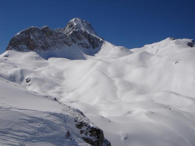 "Foto: Manfred Karl / Ski Tour / Hundstodreib´n ""von hint´ her"" / Gr. Hundstod / 24.12.2009 22:39:34"