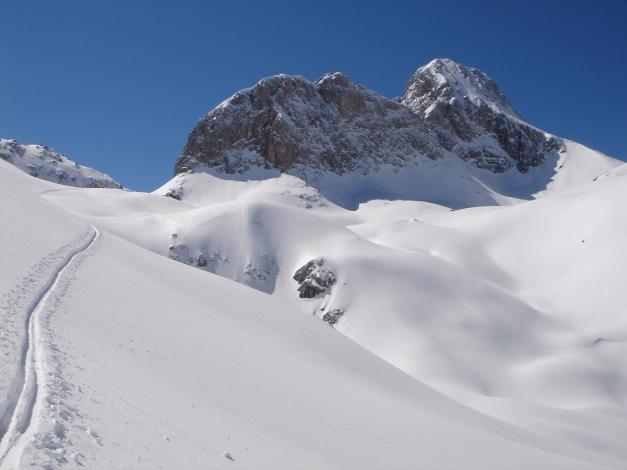 """Foto: Manfred Karl / Ski Tour / Hundstodreib´n """"von hint´ her"""" / 24.12.2009 22:38:21"""