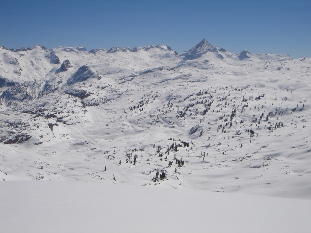 """Foto: Manfred Karl / Ski Tour / Hundstodreib´n """"von hint´ her"""" / Steinernes Meer / 24.12.2009 22:37:16"""