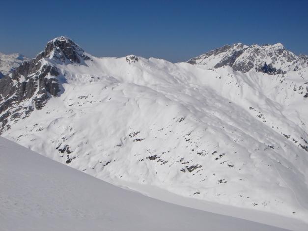 """Foto: Manfred Karl / Ski Tour / Hundstodreib´n """"von hint´ her"""" / Rückweg zum Seehorn / 24.12.2009 22:36:35"""