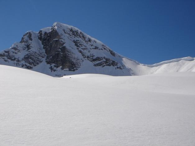 """Foto: Manfred Karl / Ski Tour / Hundstodreib´n """"von hint´ her"""" / Seehorn vom Aufstieg aus der Hochwies / 19.12.2009 15:48:45"""