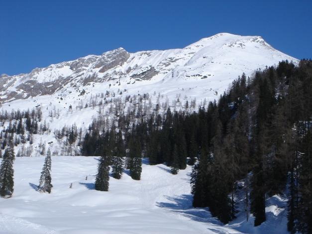 """Foto: Manfred Karl / Ski Tour / Hundstodreib´n """"von hint´ her"""" / Seehorn / 19.12.2009 15:04:00"""