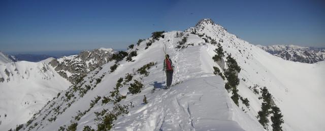 Foto: Wolfgang Lauschensky / Ski Tour / Schmalztrager - Überschreitung / am Südrücken / 21.12.2009 15:09:56