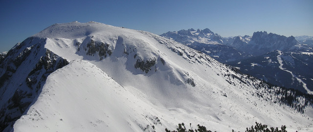 Foto: Wolfgang Lauschensky / Ski Tour / Schmalztrager - Überschreitung / vielbesuchtes Gamsfeld / 21.12.2009 15:09:24