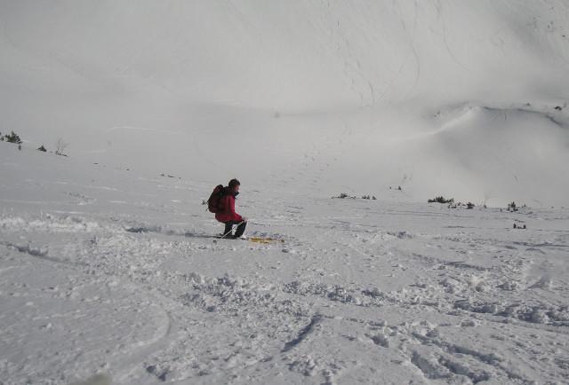 Foto: Wolfgang Lauschensky / Ski Tour / Schmalztrager - Überschreitung / Osthang / 21.12.2009 15:09:00