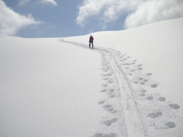 Foto: Wolfgang Lauschensky / Skitour / Glingspitze 2433m über Kreuzeck 2204m / Tourcharakter: Ruhe und Entspannung / 22.12.2009 17:28:13