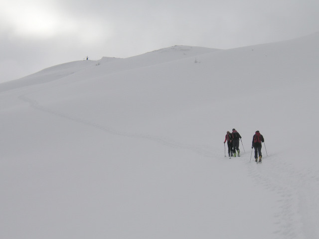 Foto: Wolfgang Lauschensky / Skitour / Glingspitze 2433m über Kreuzeck 2204m / Kreuzeck / 22.12.2009 17:22:48