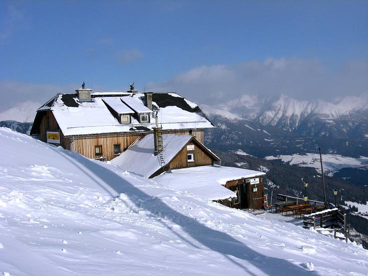Foto: Andreas Koller / Ski Tour / Lungauer Grattour (2355 m) / Speiereckhütte / 22.12.2009 23:55:08