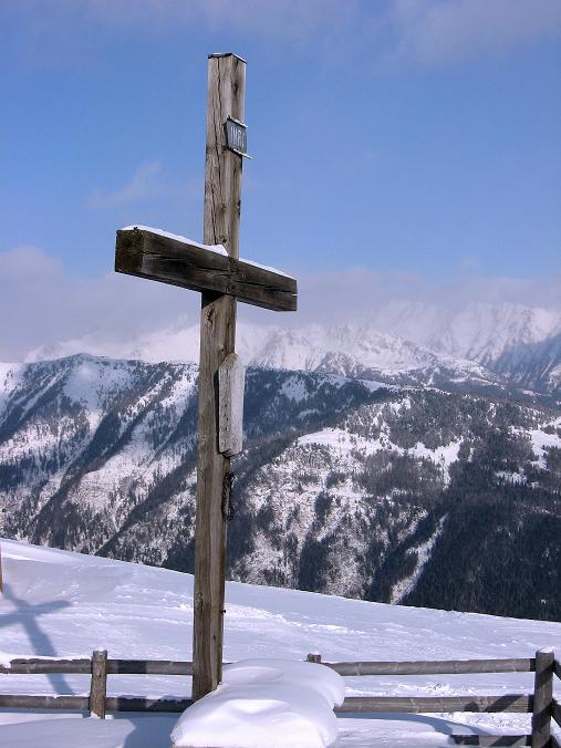 Foto: Andreas Koller / Ski Tour / Lungauer Grattour (2355 m) / Am Großeck / 22.12.2009 23:54:57