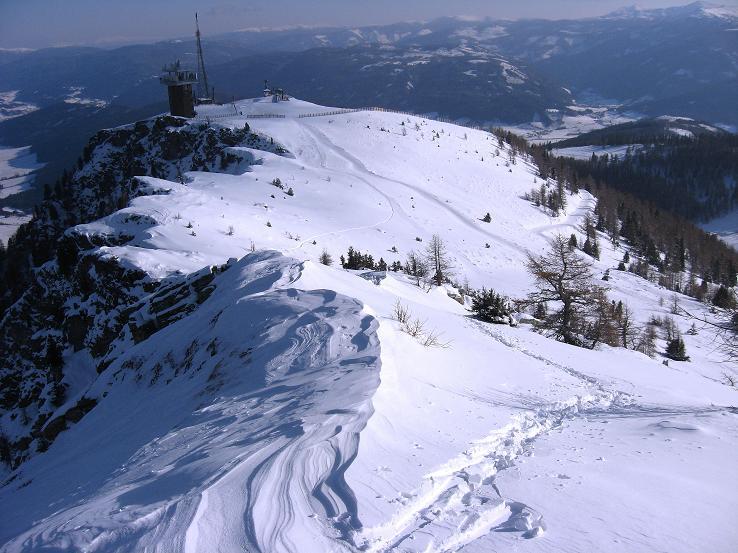 Foto: Andreas Koller / Ski Tour / Lungauer Grattour (2355 m) / Aufstiegsgrat / 22.12.2009 23:54:06
