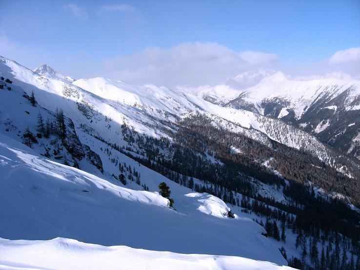 Foto: Andreas Koller / Ski Tour / Lungauer Grattour (2355 m) / 22.12.2009 23:53:46