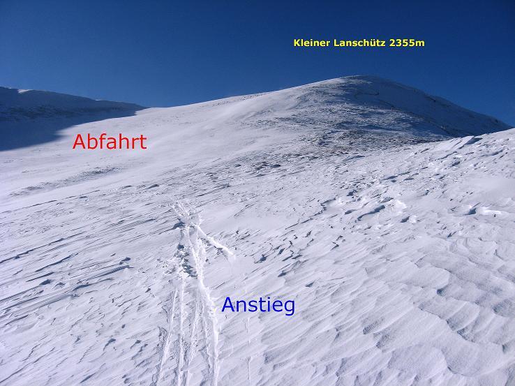 Foto: Andreas Koller / Ski Tour / Lungauer Grattour (2355 m) / 22.12.2009 23:51:07