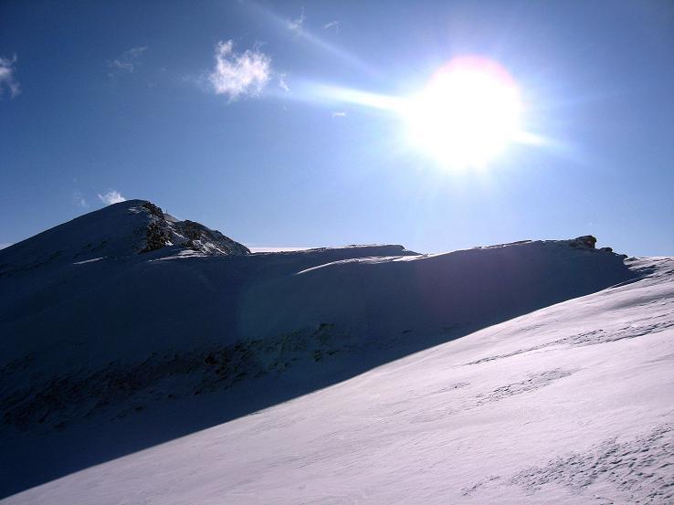 Foto: Andreas Koller / Ski Tour / Lungauer Grattour (2355 m) / Speiereck (2411 m) im Gegenlicht / 22.12.2009 23:49:45