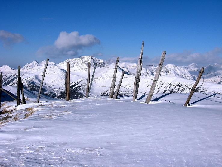 Foto: Andreas Koller / Ski Tour / Lungauer Grattour (2355 m) / Am Kleinen Lanschütz mit den Schladminger Tauern im Hintergrund / 22.12.2009 23:48:40