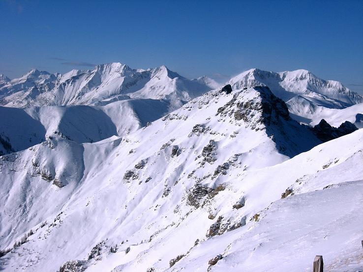 Foto: Andreas Koller / Ski Tour / Lungauer Grattour (2355 m) / 22.12.2009 23:48:15