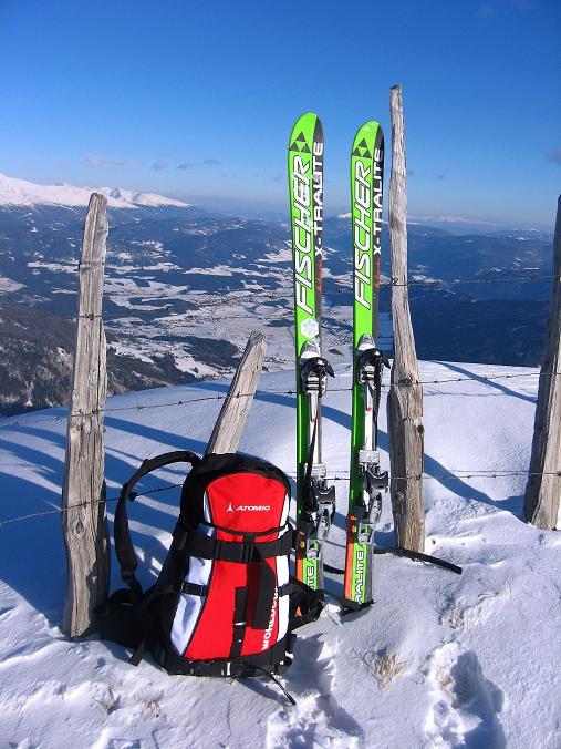 Foto: Andreas Koller / Ski Tour / Lungauer Grattour (2355 m) / 22.12.2009 23:47:14