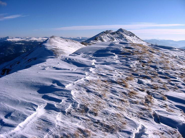 Foto: Andreas Koller / Ski Tour / Lungauer Grattour (2355 m) / Am Großen Lanschütz / 22.12.2009 23:42:30