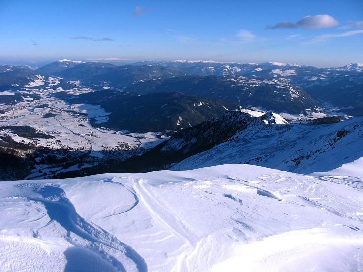Foto: Andreas Koller / Ski Tour / Lungauer Grattour (2355 m) / 22.12.2009 23:41:52