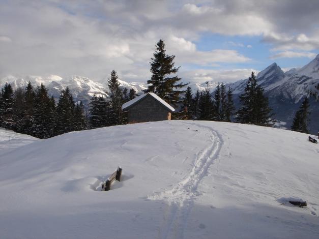 Foto: Manfred Karl / Ski Tour / Von Gerstreit auf das Hirscheck / Am Toten Mann / 25.12.2009 18:28:30