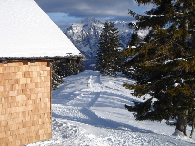 Foto: Manfred Karl / Ski Tour / Von Gerstreit auf das Hirscheck / 25.12.2009 18:27:34