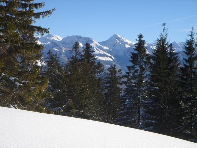 Foto: Manfred Karl / Ski Tour / Von Gerstreit auf das Hirscheck / Fagstein und Kahlersberg / 25.12.2009 18:26:59