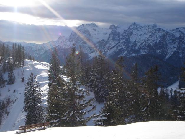 Foto: Manfred Karl / Ski Tour / Von Gerstreit auf das Hirscheck / Reiter Alm vom Toten Mann / 25.12.2009 18:25:57