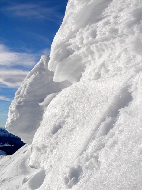 Foto: Manfred Karl / Ski Tour / Wildalphorn / Gipfelwechte am Wildalphorn / 25.12.2009 18:45:50