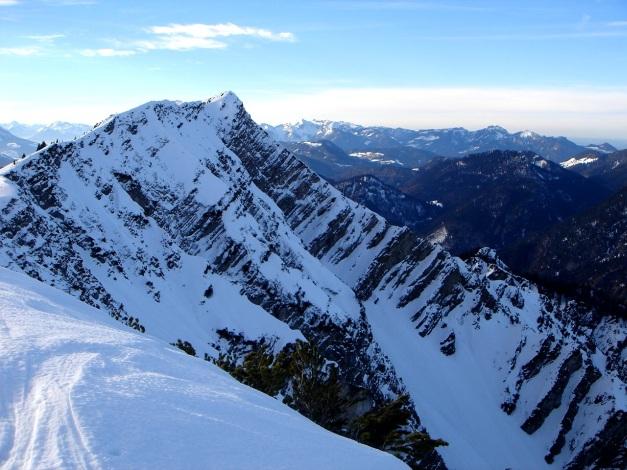 Foto: Manfred Karl / Ski Tour / Wildalphorn / Dürrnbachhorn vom Wildalphorn / 25.12.2009 18:45:24
