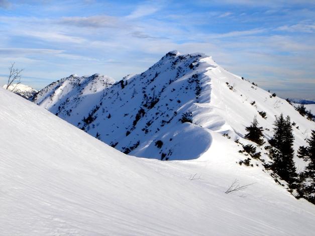Foto: Manfred Karl / Ski Tour / Wildalphorn / Der Grat zum Wildalphorn / 25.12.2009 18:45:02