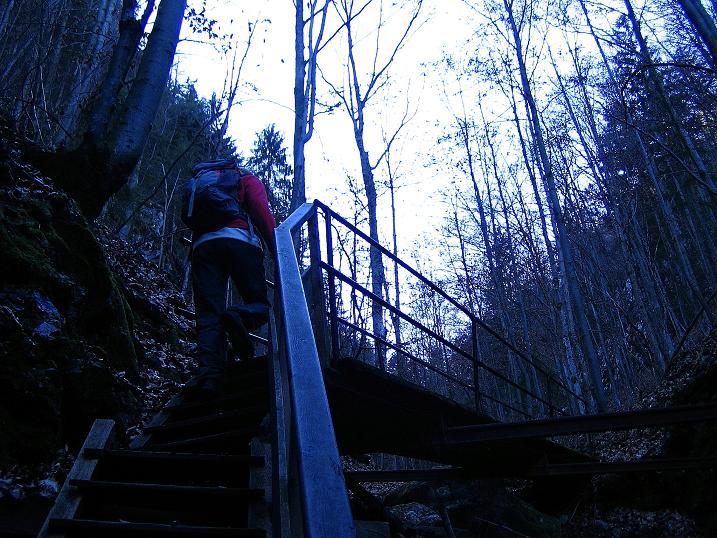 Foto: Andreas Koller / Klettersteigtour / Rudolf-Decker-Steig (720 m) / 27.12.2009 01:54:55